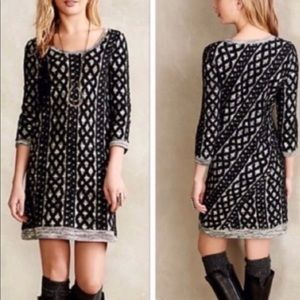 Moth Stitched Sweater Dress
